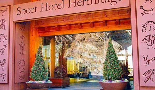 hotel hermitage front Moreno Metalls
